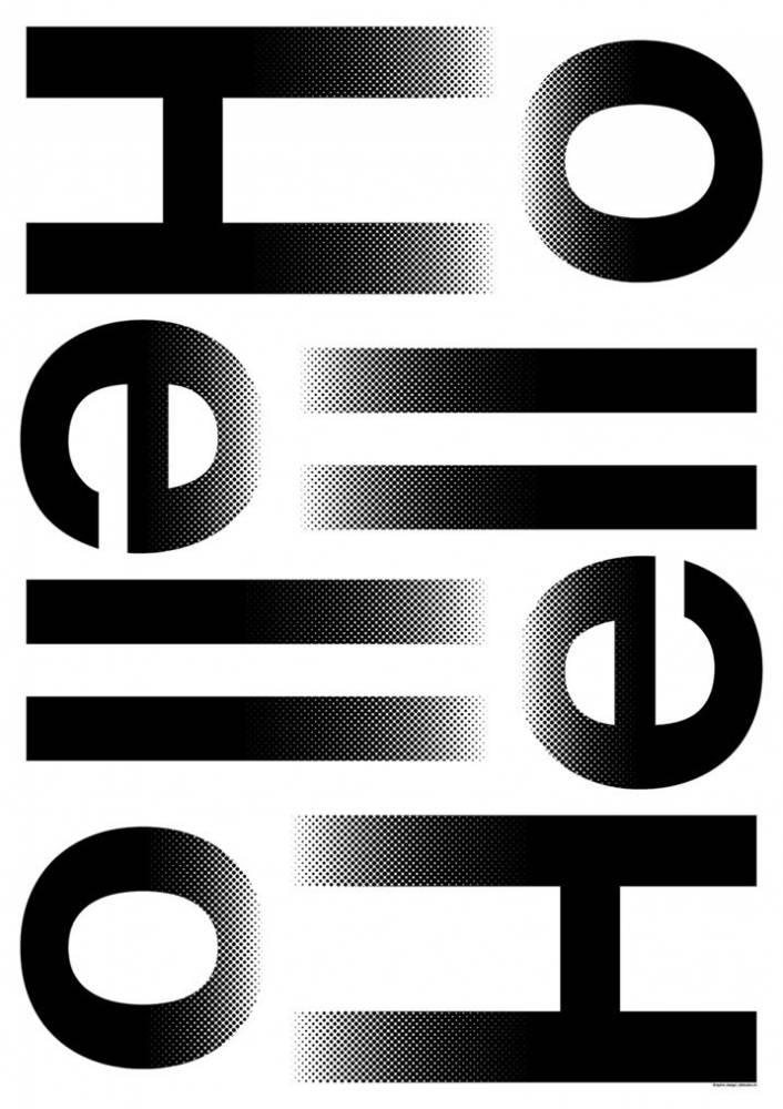 Plakat A3 studio